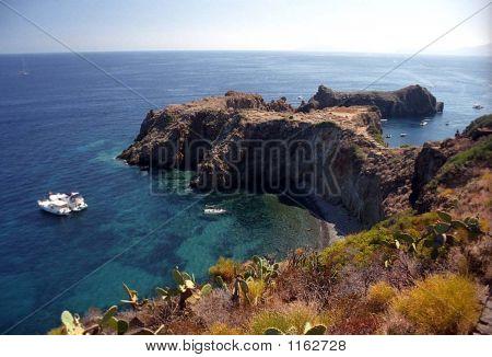 Panorea Head Land Punta Milazzese