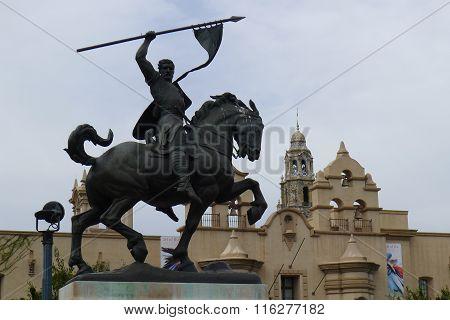 El Cid Equestrian Statue in Balboa Park