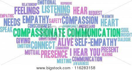 Compassionate Communication Word Cloud