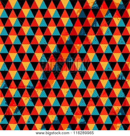 Colored Polygons Abstract Geometric Background