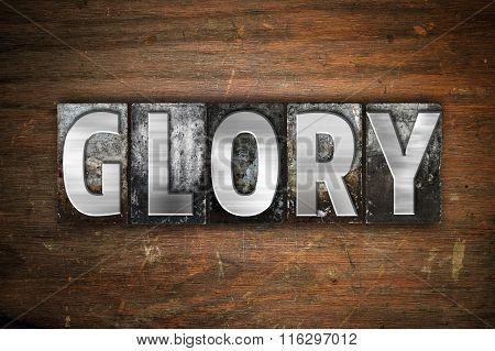 Glory Concept Metal Letterpress Type