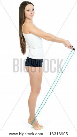 The Girl With A Jump Rope