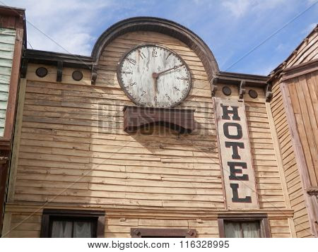 Hotel And Clock