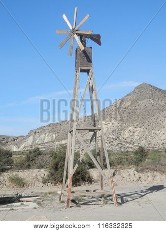 Wooden Wind Mill