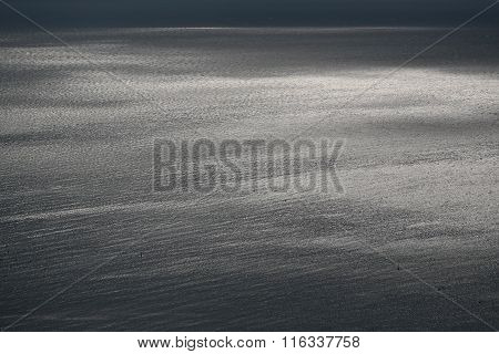 Spectacular Seascape In Murky Day