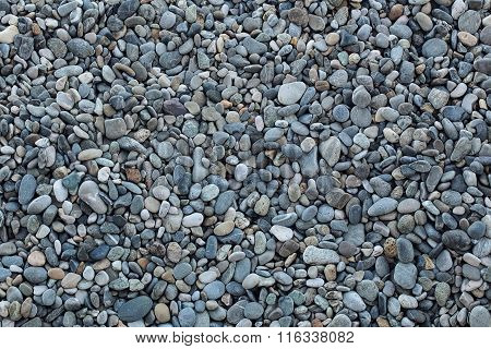 Large Quantities Of Grey Pebbles