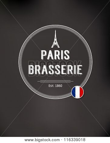 Brasserie Paris Badge