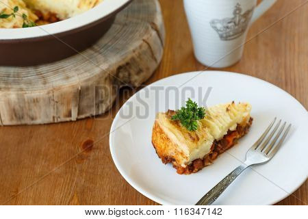 Shepards Pie With A Fork
