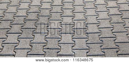 Floor Background In Bright Sunlight