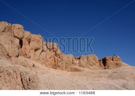 the ancient valley of the kings in egypt poster