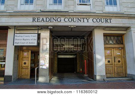 Reading County Court, Berkshire