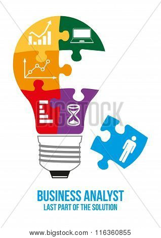 Business Analyst Design Concept.