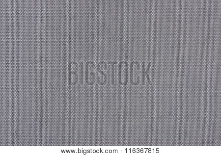 A gray Woven Fabric Texture Background