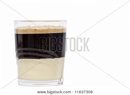 White chocolate coffee.