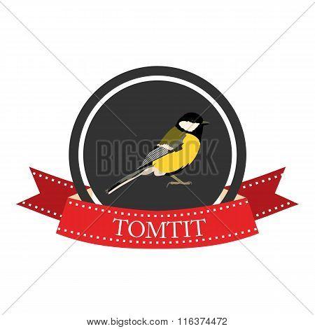Flat Icon Tomtit