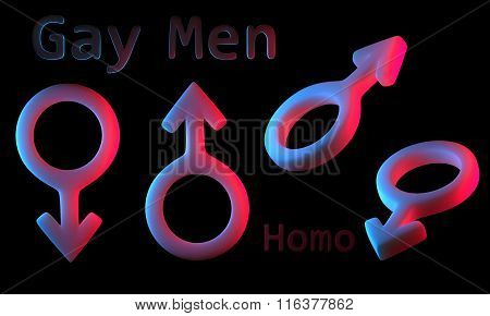 Sign men and women silicone