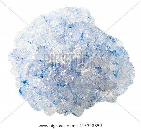 Druse Of Blue Celestine (celestite) Mineral Stone