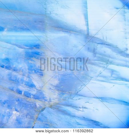 Background From Moonstone Gem Stone Blue Sheen