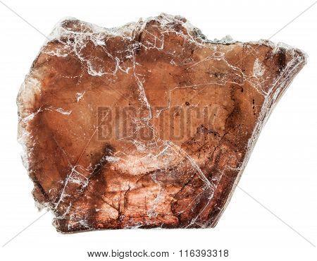 Brown Muscovite (common Mica) Mineral Stone