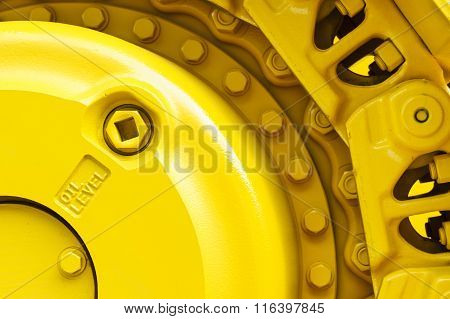 Bulldozer drive gear