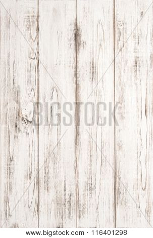 White Wooden Texture Background With Natural Pattern