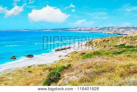 San Giovanni Beach On A Summer Day