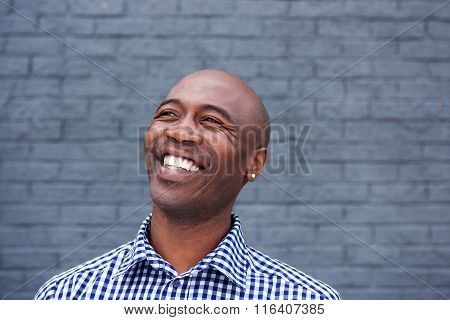 African American Man Laughing