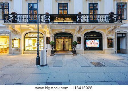 Casino Wien In The Central Vienna, Parto Of The Casinos Austria