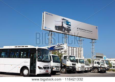 Tata Motors Dealership In Muscat, Oman