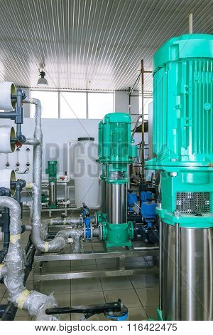 Pumps And Piping System