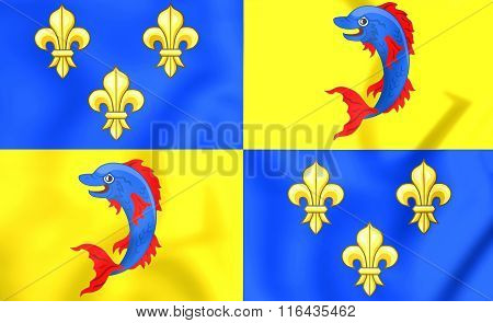 Dauphine Of France Flag
