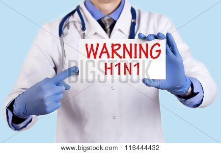 Warning Swine Flu