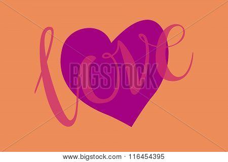 Love Heart Vector En Foto Gratis Proefversie Bigstock