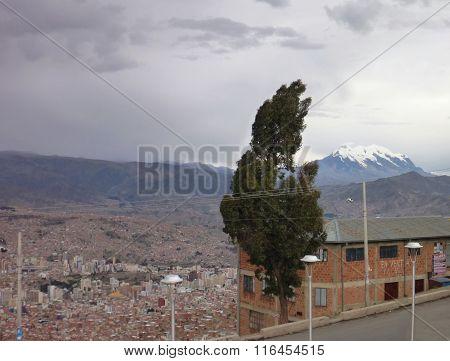 La Paz City Seen From El Alto