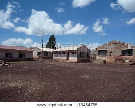 Maragua Village In Crater In Cordillera De Los Frailes