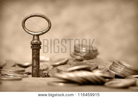 Key And Coin