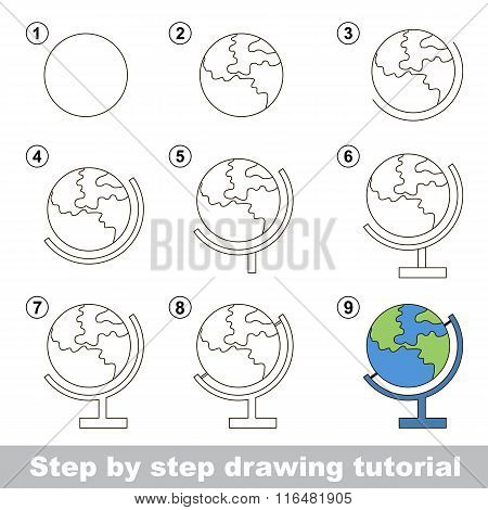 How to draw a Globe