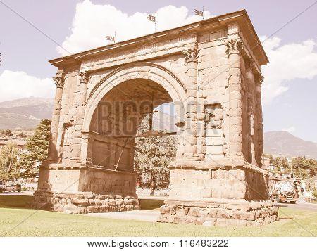 Arch Of August Aosta Vintage