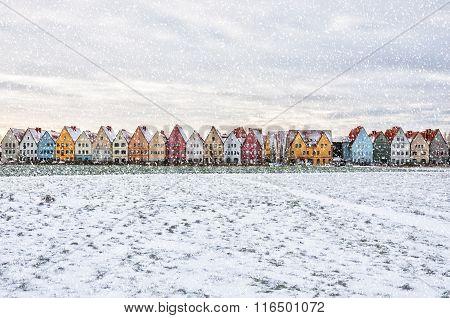 Jakriborg In Snowstorm
