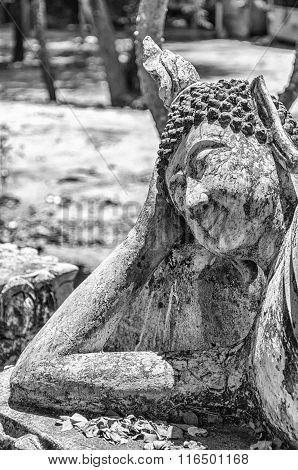 Reclining Buddha In Hua Hin