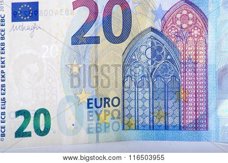 Euro money.Picture of a euro currency. Finance concept