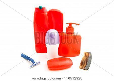 Razor, Deodorant And Other Toiletry