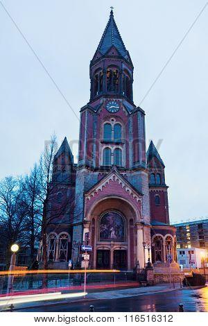 Kreuzeskirche In Essen
