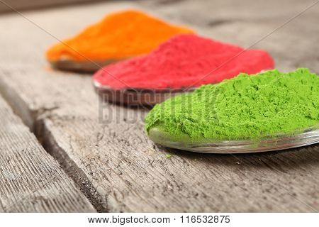 Indian color festival Holi