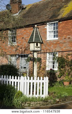 Cottage With A Dovecote In The Garden