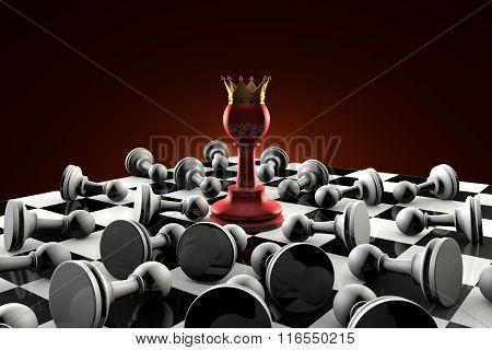 Sect (secret Society). Chess Metaphor.