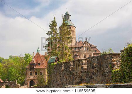 Czoch castle, Lesna, Poland
