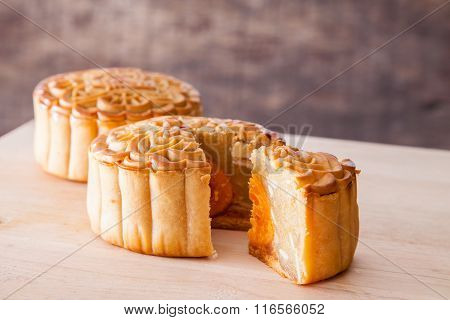 Mooncake For Mid-autumn Festival