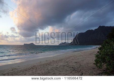 Waimanalo Beach At Dawn