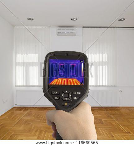 Thermal Imaging of Underfloor Heating